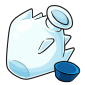 Empty Ice Snow Jar