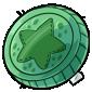Green Token Plushie