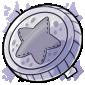 Silver Token Plushie