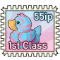 Cottoncandy Ducky Stamp