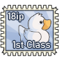 White Ducky Stamp