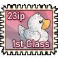 Snowdrift Ducky Stamp