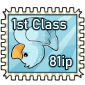 Ice Ducky Stamp