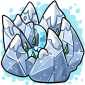 Snowslide Mountains Ice Cube