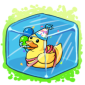 Party Ducky Ice Cube