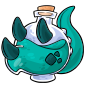 Turquoise Trido Morphing Potion