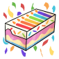 Box of Birthday Candles