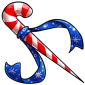 Candy Cane Sword