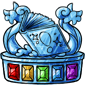 Crystal Book Quest Trophy
