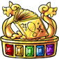 Gold Book Quest Trophy